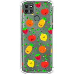Funda Silicona Antigolpes para Motorola Moto G9 Power diseño Frutas 01 Dibujos