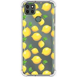 Funda Silicona Antigolpes para Motorola Moto G9 Power diseño Limones Dibujos