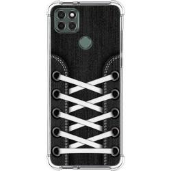 Funda Silicona Antigolpes para Motorola Moto G9 Power diseño Zapatillas 02 Dibujos