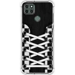 Funda Silicona Antigolpes para Motorola Moto G9 Power diseño Zapatillas 03 Dibujos