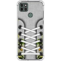 Funda Silicona Antigolpes para Motorola Moto G9 Power diseño Zapatillas 08 Dibujos