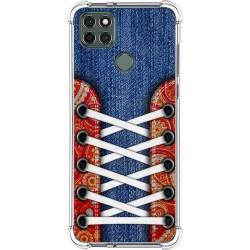 Funda Silicona Antigolpes para Motorola Moto G9 Power diseño Zapatillas 11 Dibujos