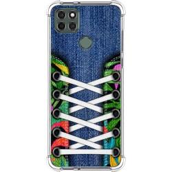 Funda Silicona Antigolpes para Motorola Moto G9 Power diseño Zapatillas 13 Dibujos