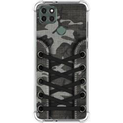 Funda Silicona Antigolpes para Motorola Moto G9 Power diseño Zapatillas 15 Dibujos