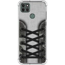 Funda Silicona Antigolpes para Motorola Moto G9 Power diseño Zapatillas 16 Dibujos