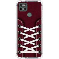 Funda Silicona Antigolpes para Motorola Moto G9 Power diseño Zapatillas 17 Dibujos