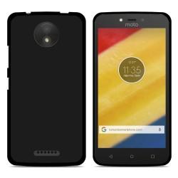Funda Gel Tpu para Motorola Moto C Color Negra