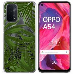 Funda Gel Transparente para Oppo A54 5G / A74 5G diseño Jungla Dibujos