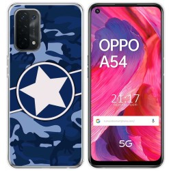 Funda Gel Tpu para Oppo A54 5G / A74 5G diseño Camuflaje 03 Dibujos