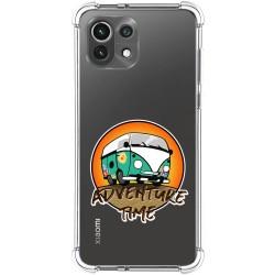 Funda Silicona Antigolpes para Xiaomi Mi 11 Lite 4G / 5G diseño Adventure Time Dibujos