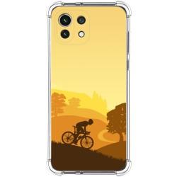 Funda Silicona Antigolpes para Xiaomi Mi 11 Lite 4G / 5G diseño Ciclista Dibujos