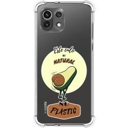 Funda Silicona Antigolpes para Xiaomi Mi 11 Lite 4G / 5G diseño Culo Natural Dibujos