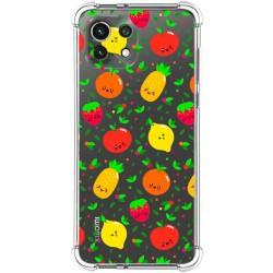 Funda Silicona Antigolpes para Xiaomi Mi 11 Lite 4G / 5G diseño Frutas 01 Dibujos