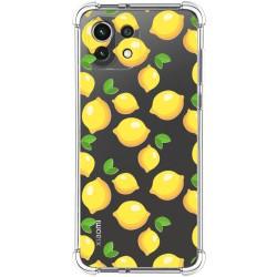 Funda Silicona Antigolpes para Xiaomi Mi 11 Lite 4G / 5G diseño Limones Dibujos