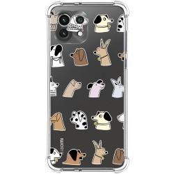 Funda Silicona Antigolpes para Xiaomi Mi 11 Lite 4G / 5G diseño Perros Dibujos