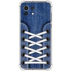 Funda Silicona Antigolpes para Xiaomi Mi 11 Lite 4G / 5G diseño Zapatillas 01 Dibujos