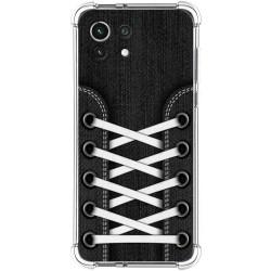 Funda Silicona Antigolpes para Xiaomi Mi 11 Lite 4G / 5G diseño Zapatillas 02 Dibujos