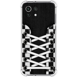 Funda Silicona Antigolpes para Xiaomi Mi 11 Lite 4G / 5G diseño Zapatillas 03 Dibujos
