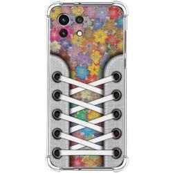 Funda Silicona Antigolpes para Xiaomi Mi 11 Lite 4G / 5G diseño Zapatillas 05 Dibujos