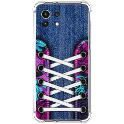 Funda Silicona Antigolpes para Xiaomi Mi 11 Lite 4G / 5G diseño Zapatillas 06 Dibujos