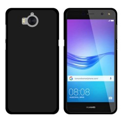 Funda Gel Tpu para Huawei Y6 2017 Color Negra
