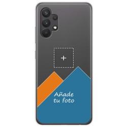 Personaliza tu Funda Doble Pc + Tpu 360 con tu Fotografia para Samsung Galaxy A32 4G dibujo personalizada
