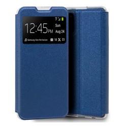 Funda Libro Soporte con Ventana para Xiaomi Mi 11 Lite 4G / 5G color Azul