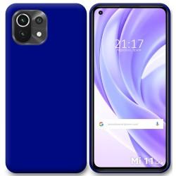 Funda Silicona Gel TPU Azul para Xiaomi Mi 11 Lite 4G / 5G