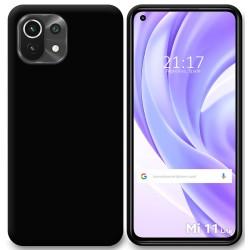 Funda Silicona Gel TPU Negra para Xiaomi Mi 11 Lite 4G / 5G