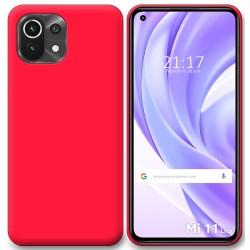 Funda Silicona Gel TPU Rosa para Xiaomi Mi 11 Lite 4G / 5G