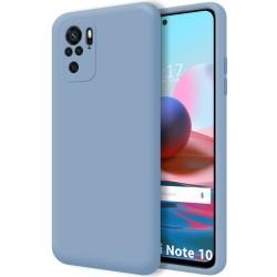 Funda Silicona Líquida Ultra Suave para Xiaomi Redmi Note 10 / 10S color Azul