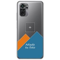 Personaliza tu Funda Doble Pc + Tpu 360 con tu Fotografia para Xiaomi Redmi Note 10 / 10S dibujo personalizada