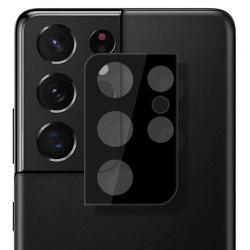 Protector Cristal Templado Cámara Trasera para Samsung Galaxy S21 Ultra 5G