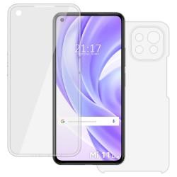 Funda Doble Transparente Pc + Tpu Full Body 360 para Xiaomi Mi 11 Lite 4G / 5G