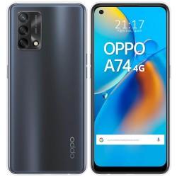 Funda Silicona Gel TPU Transparente para Oppo A74 4G