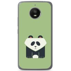 Funda Gel Tpu para Vodafone Smart N8 Diseño Panda Dibujos