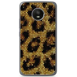 Funda Gel Tpu para Vodafone Smart N8 Diseño Leopardo Dibujos