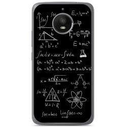 Funda Gel Tpu para Vodafone Smart N8 Diseño Formulas Dibujos