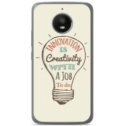Funda Gel Tpu para Vodafone Smart N8 Diseño Creativity Dibujos