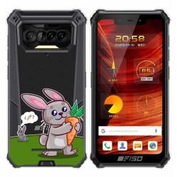 Funda Gel Transparente para F150 B2021 diseño Conejo Dibujos