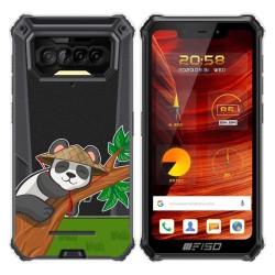 Funda Gel Transparente para F150 B2021 diseño Panda Dibujos