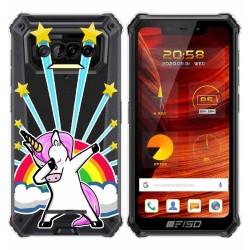 Funda Gel Transparente para F150 B2021 diseño Unicornio Dibujos