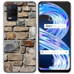 Funda Gel Tpu para Realme 8 5G diseño Ladrillo 03 Dibujos