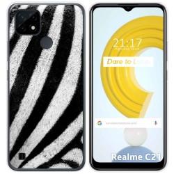 Funda Gel Tpu para Realme C21 diseño Animal 02 Dibujos