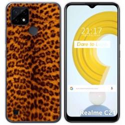 Funda Gel Tpu para Realme C21 diseño Animal 03 Dibujos