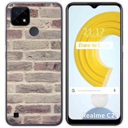 Funda Gel Tpu para Realme C21 diseño Ladrillo 01 Dibujos