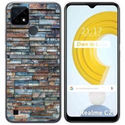 Funda Gel Tpu para Realme C21 diseño Ladrillo 05 Dibujos