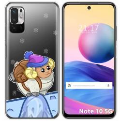 Funda Gel Transparente para Xiaomi Redmi Note 10 5G / POCO M3 PRO 5G diseño Cabra Dibujos