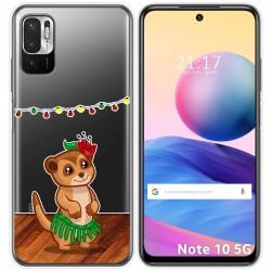 Funda Gel Transparente para Xiaomi Redmi Note 10 5G / POCO M3 PRO 5G diseño Suricata Dibujos