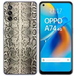Funda Gel Tpu para Oppo A74 4G diseño Animal 01 Dibujos